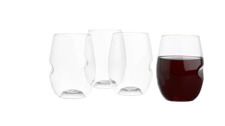 Govino stemless wine glasses (Photograph: Courtesy CB2)