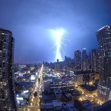 Wild photos the derecho storm