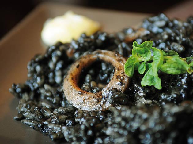 El arroz negro