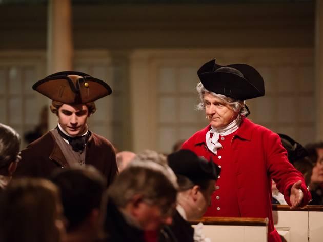 Boston Tea Party Re-enactment