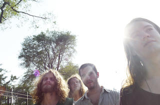 Liturgy (from left: Greg Fox, Bernard Gann, Tyler Dusenbury, Hunter Hunt-Hendrix)