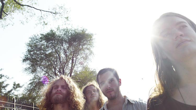 Liturgy (from left: Greg Fox, Bernard Gann, Tyler Dusenbury, Hunter Hunt-Hendrix)