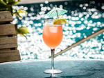 THE ELM mccarren spritzer cocktail
