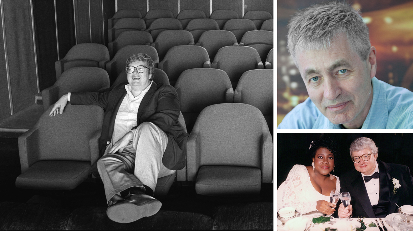 Steve James and Chaz Ebert