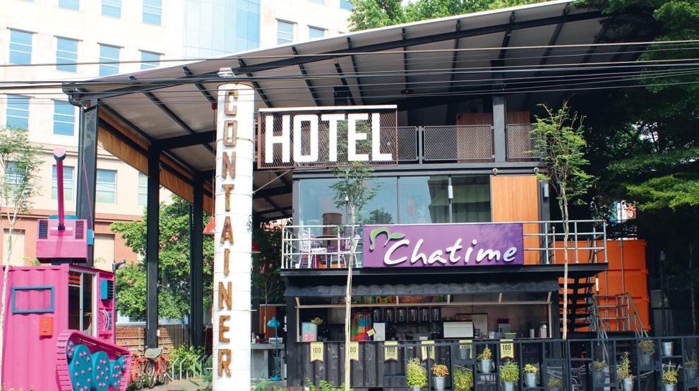 Container hotel hotels in bukit bintang kuala lumpur for Design hotel kl