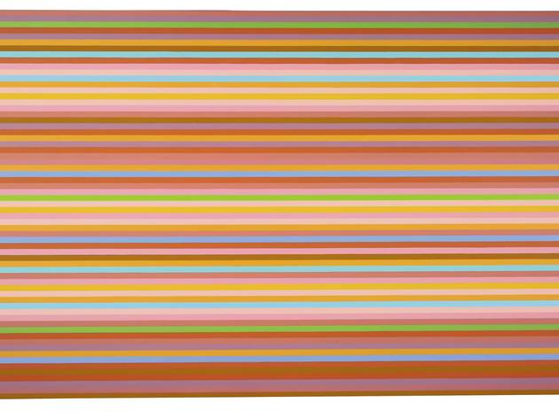 Bridget Riley ('Tocatta (Green)', 2013-2014)