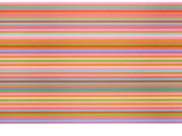 Bridget Riley ('Arioso (Blue)', 2013)