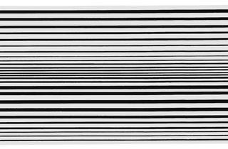 Bridget Riley ('Horizontal Vibration', 1961)