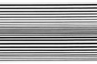 Bridget Riley ('Horizontal Vibration', 1961)