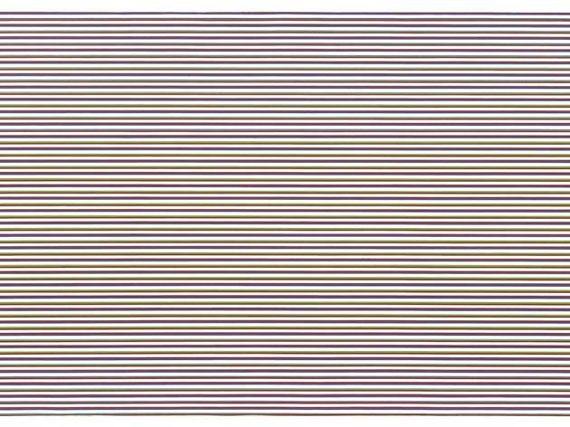 Bridget Riley ('Late Morning (Horizontal)', 1969)