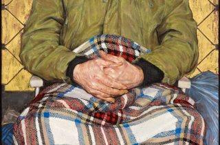 Thomas Ganter ('Man with a Plaid Blanket')