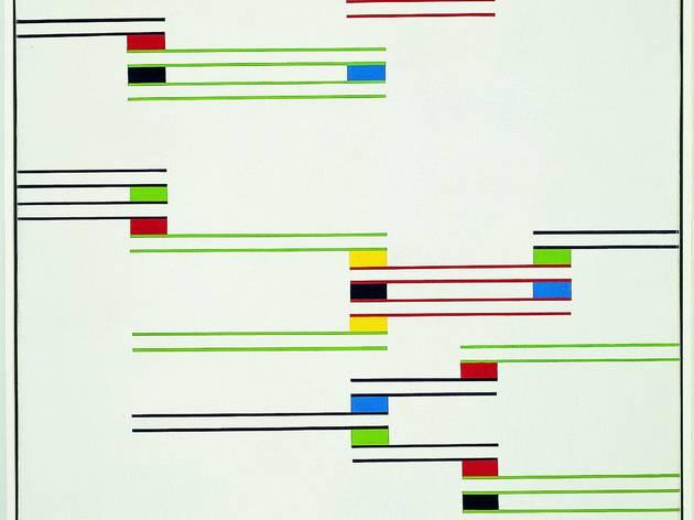Alfredo Hlito  ('Chromatic Rhythms II', 1947. Coleccion Patricia Phelps de Cisneros. © Sonia Henriquez Urena de Hlito  )
