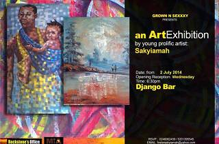 Django Bar Art Exhibition