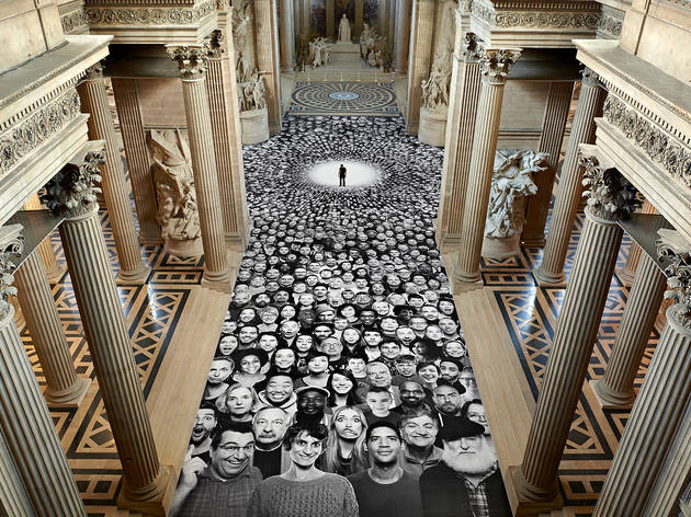 JR – 'Au Panthéon!'
