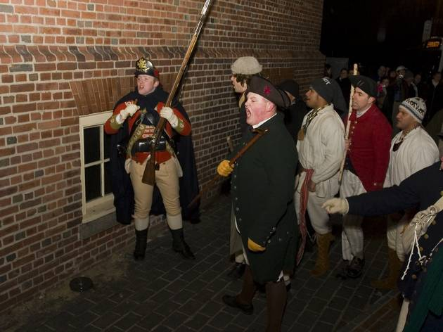 Boston Massacre Re-enactment