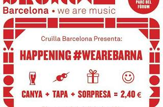 Cruïlla Barcelona 2014: #WeAreBarna