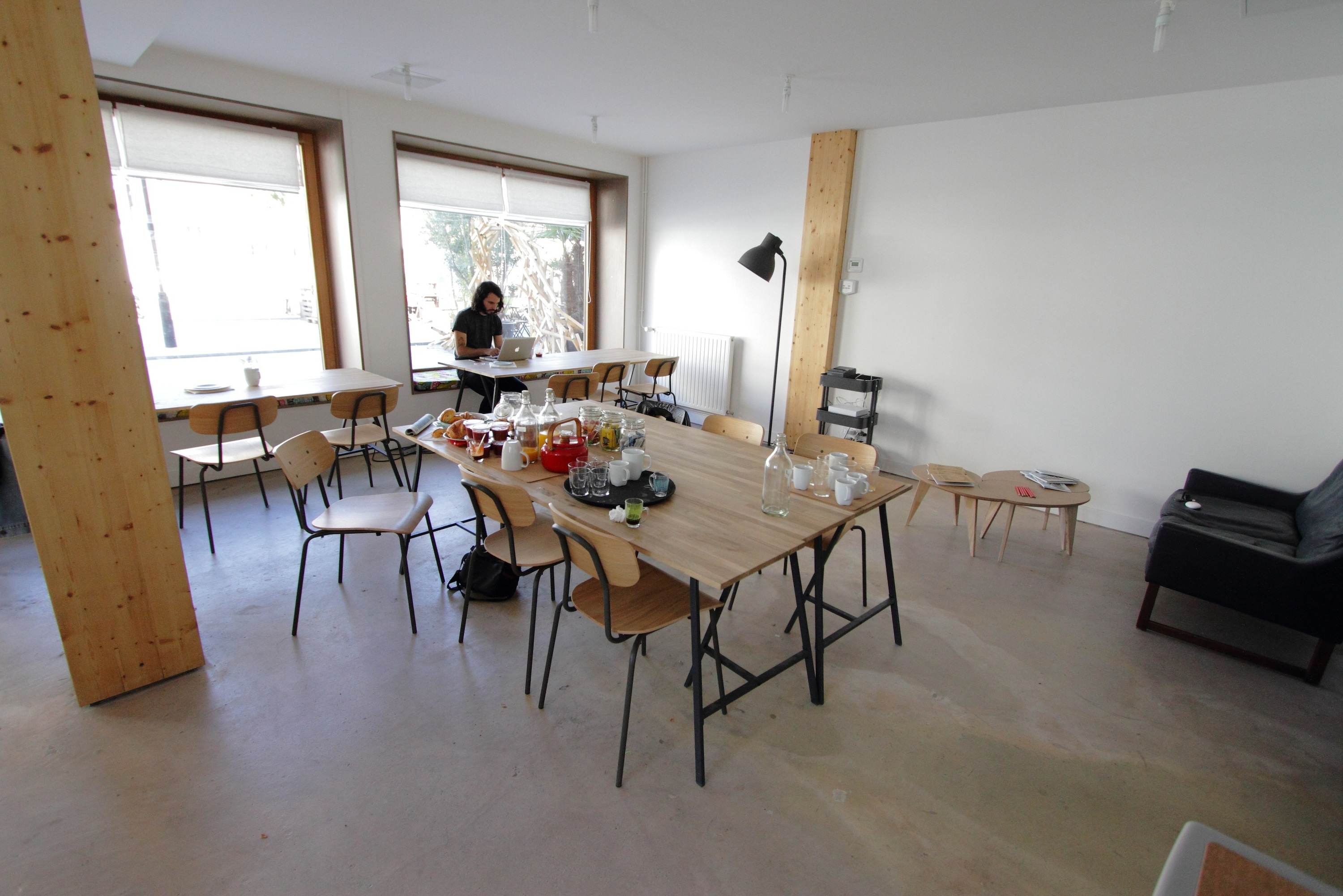 Draft co-working ateliers connectés