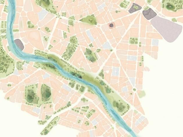 Mapa de recuerdos de Madrid