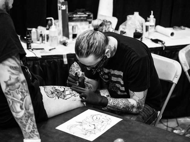 Boston Tattoo Convention