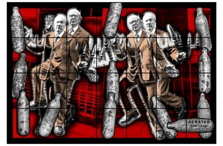 Gilbert & George ('AERATED', 2013)