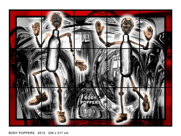 Gilbert & George ('BODY POPPERS', 2013)