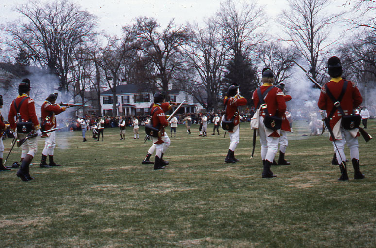 Patriot's Day Re-enactments