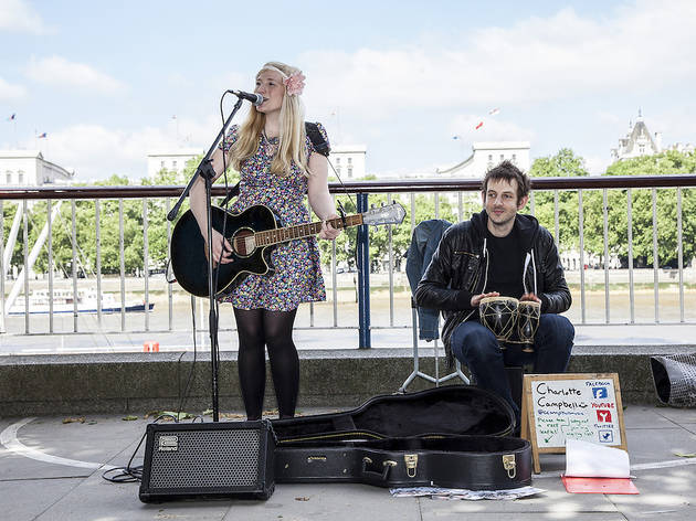 Help us find London's best busker