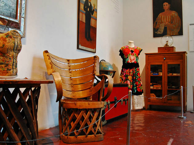 Museo frida kahlo casa azul for Cuartos decorados de frida kahlo