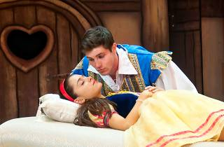 Snow White (Ariana Grande) and Prince Harry (Curt Hansen) for LFP 2012