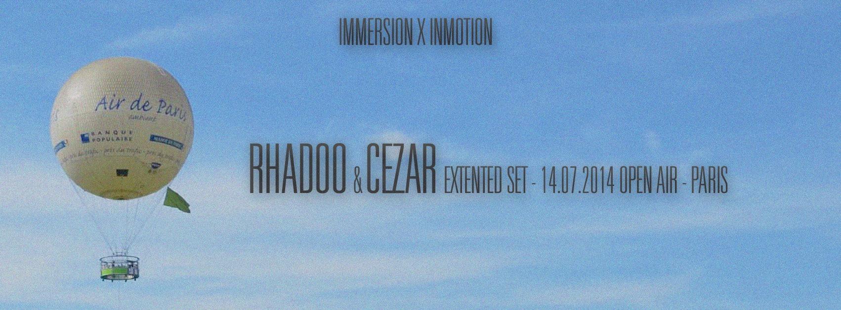 Open air : Immersion x Inmotion + Rhadoo + Cezar + Ekomine...
