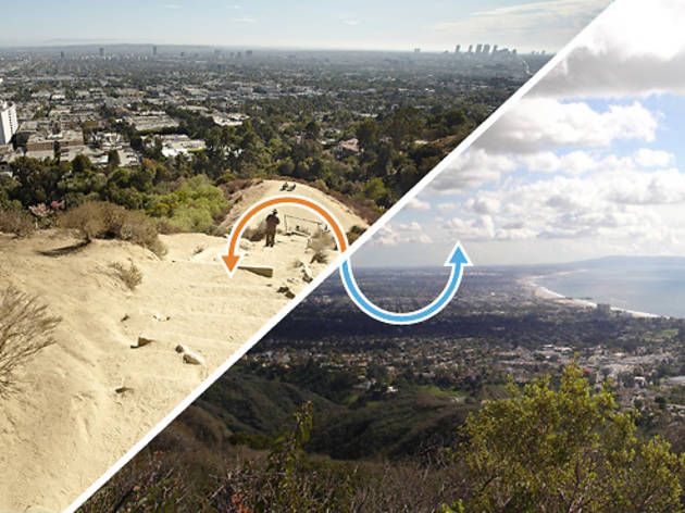 Hiking trail: Runyon Canyon / Temescal Canyon