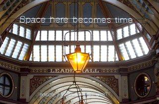 Cerith Wyn Evans ('Time here becomes Space, Space here becomes Time', 2014)
