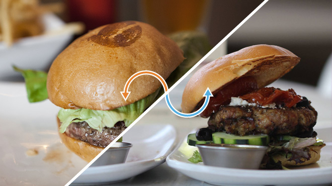 Burger chain: Umami Burger / The Counter
