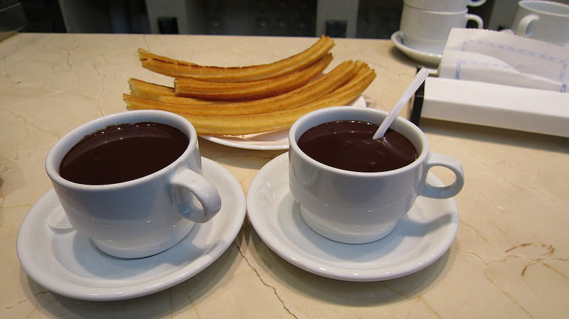 Chocolate con Churros de San Ginés