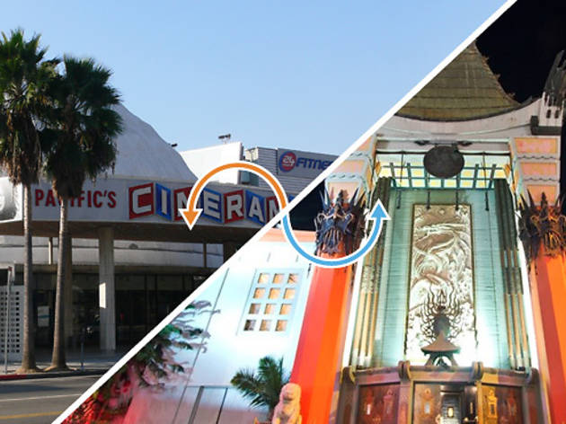 Movie theater: Arclight Cinerama Dome / Chinese Theatre