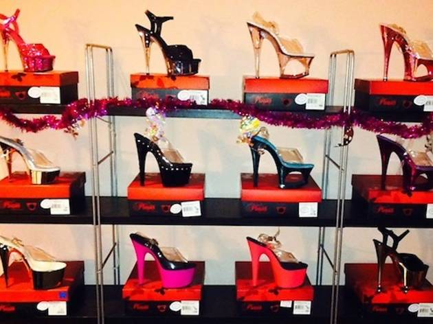 Stilettos available at Luscious Maven
