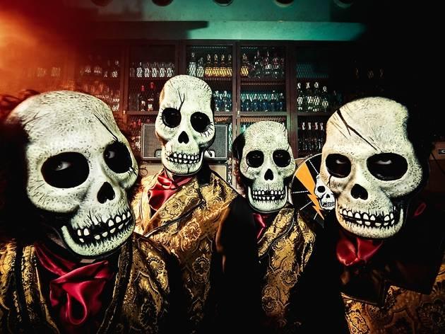 Los Tiki Phantoms + The Lizards