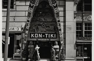 (Kon-Tiki Polynesian restaurant, Montreal, 1958 / Collection JP Balak / ©D.R.)