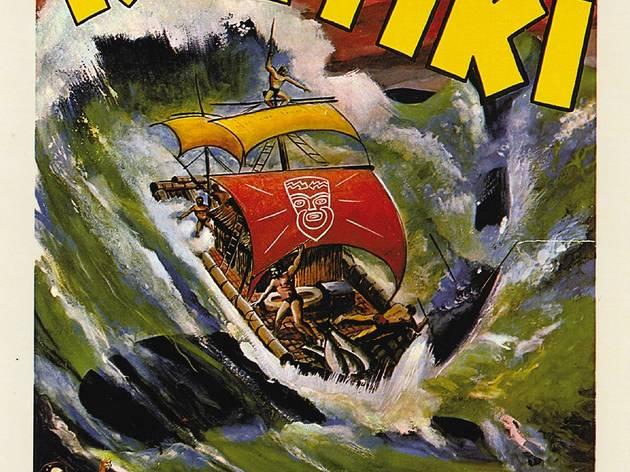 (Affiche du film 'L'Expédition du Kon-Tiki', 1951 / ©D.R.)