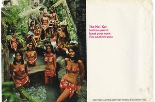 ( 'The Mai-Kai girls await you on their suburban island' / Collection Tim Glazner / © D.R.)