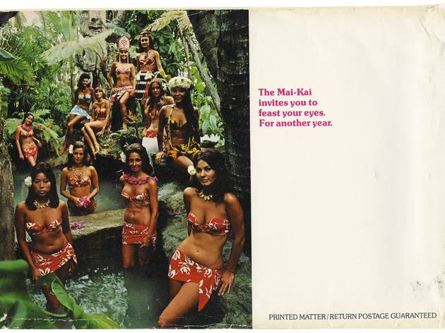 ( 'The Mai-Kai girls await you on their suburban island' / Collection Tim Glazner / © D.R.)