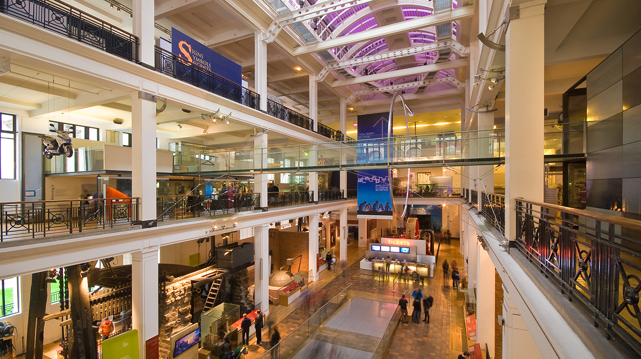 The Energy Hall © Science Museum