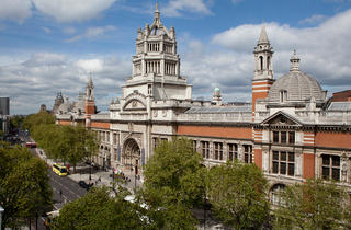(Exterior of V&A © Peter Kelleher)