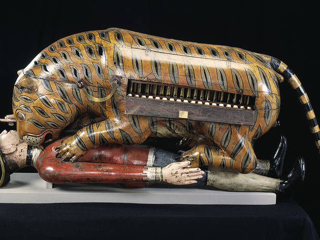 (Tippo's Tiger ©Victoria and Albert Museum, London)