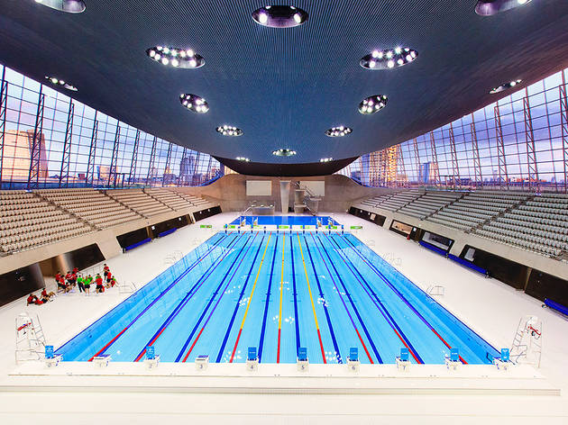 Queen elizabeth olympic park sport and fitness in - Queen elizabeth olympic park swimming pool ...