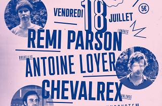 Fête Souterraine #2: Rémi Parson + Antoine Loyer + Chevalrex