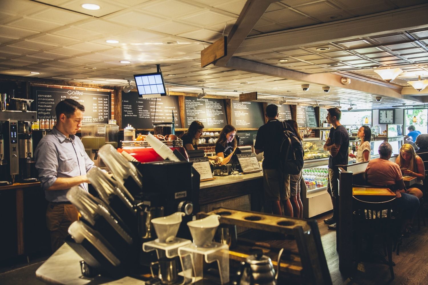 The best Boston coffee shops and cafés