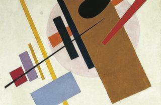 Kazimir Malevich ('Supremus No. 55', 1916)
