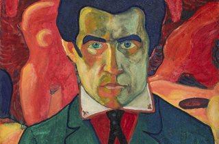 Kazimir Malevich ('Self Portrait', 1908-1910)