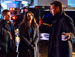 Sean Astin, Mia Maestro and Corey Stoll in <em>The Strain</em>